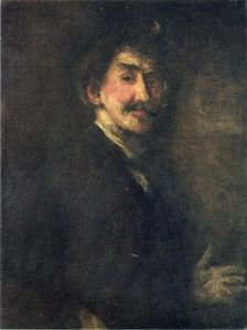 'Gold and Brown (also known as Self Portrait)'