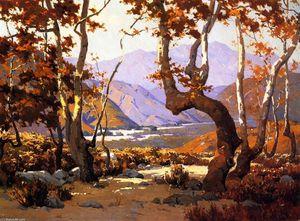 Golden Herbst , cajon` pass