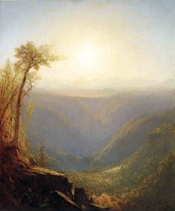A Gorge in the Mountains (also known as Kauterskill Clove)
