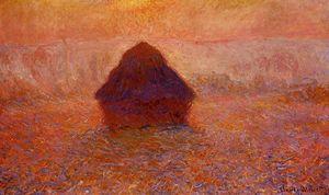 Grainstack, Sun in the Mist