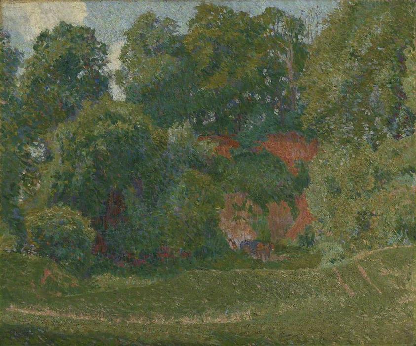 WikiOO.org - Encyclopedia of Fine Arts - Lukisan, Artwork Spencer Frederick Gore - The Gravel Pit