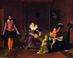 Henri IV Playing with His Children