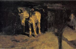 The horse of Montmartre
