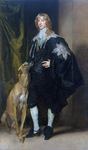 Portrait of James Stuart , Duke of Richmond and Lenox