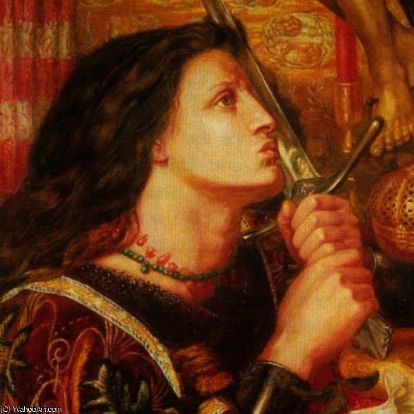 Wikioo.org - The Encyclopedia of Fine Arts - Painting, Artwork by Howard Pyle - Joan of Arc