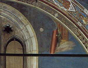 giudizio finale ( particolare 2 ) ( cappella degli scrovegni ( cappella arena ) , Padova )