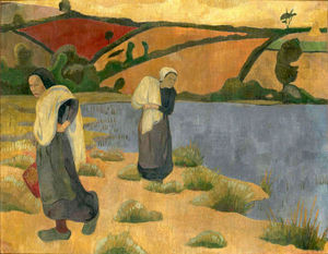 Laundresses at the River