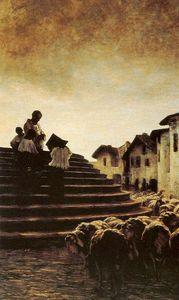 La benedizione delle pecore