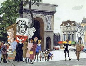 Gagarin's Day in Paris