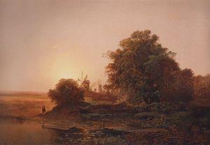 Wikioo.org - The Encyclopedia of Fine Arts - Artist, Painter  Aleksey Savrasov