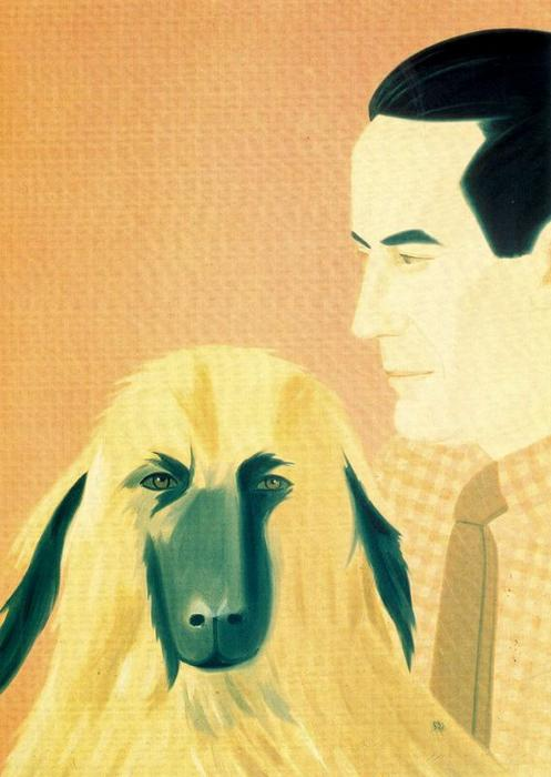 Wikioo.org - The Encyclopedia of Fine Arts - Painting, Artwork by Alex Katz - Roger and Sophie