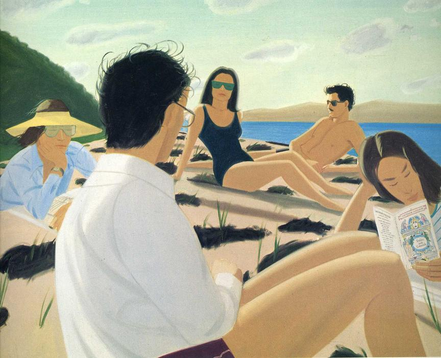 Wikioo.org - The Encyclopedia of Fine Arts - Painting, Artwork by Alex Katz - Round Hill