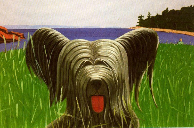 Wikioo.org - The Encyclopedia of Fine Arts - Painting, Artwork by Alex Katz - Sunny