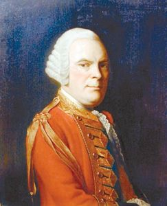 General Sir James Abercromby (also spelled Abercrombie)