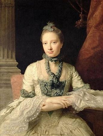 Wikioo.org - The Encyclopedia of Fine Arts - Painting, Artwork by Allan Ramsay - Lady Susan Fox-Strangways