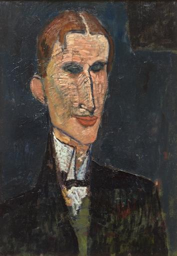 Wikioo.org - The Encyclopedia of Fine Arts - Painting, Artwork by Amedeo Modigliani - Viking Eggeling
