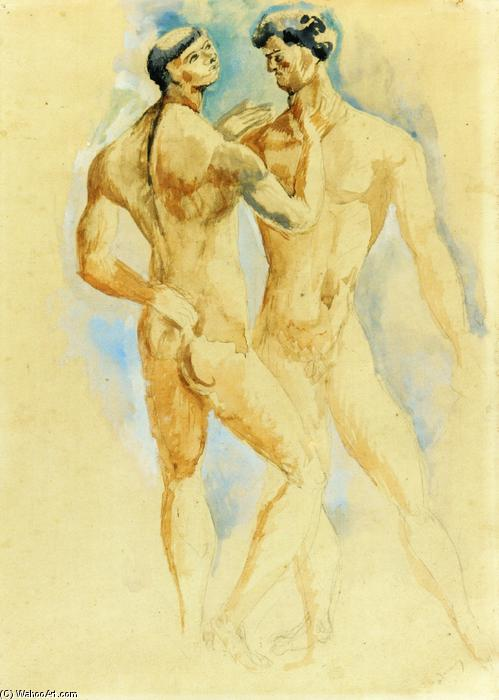 Wikioo.org - The Encyclopedia of Fine Arts - Painting, Artwork by André Derain - Chinese Boxers