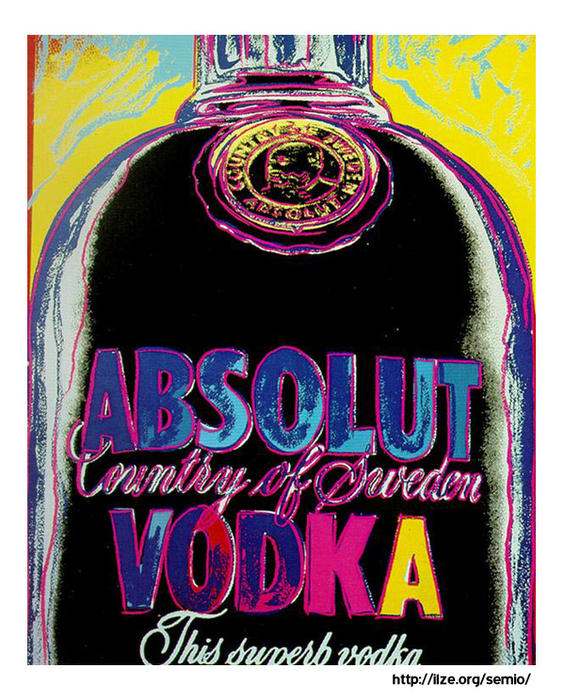 Wikioo.org - The Encyclopedia of Fine Arts - Painting, Artwork by Andy Warhol - Absolut Vodka