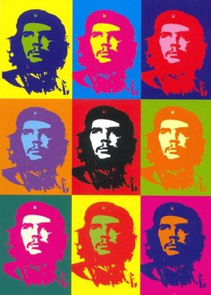 Wikioo.org - The Encyclopedia of Fine Arts - Painting, Artwork by Andy Warhol - Che Guevara