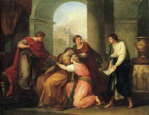 Wikioo.org - The Encyclopedia of Fine Arts - Artist, Painter  Angelica Kauffman (Maria Anna Angelika)