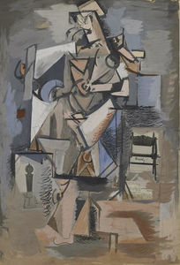 Untitled (Cubist Figure)
