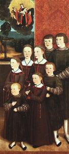 The eight children Konrad Rehlinger