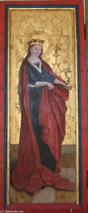 Wikioo.org - The Encyclopedia of Fine Arts - Painting, Artwork by Bernhard Strigel - Barbara of Nicomedia