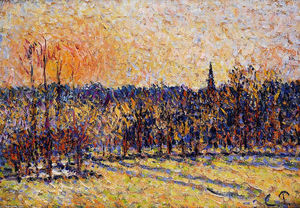 Sunset, Bazincourt Steeple