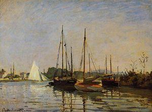 Pleasure Boats, Argenteuil, c.1872-3 (oil on canvas)