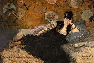 The Lady with Fans, Portrait of Nina de Callias