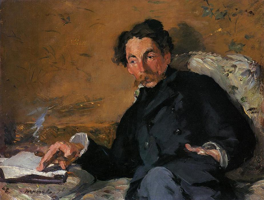 Wikioo.org - The Encyclopedia of Fine Arts - Painting, Artwork by Edouard Manet - Stephane Mallarme