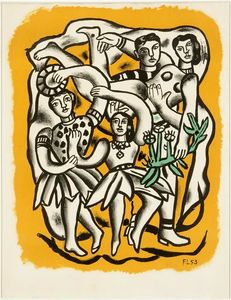 The dancers (yellow background)
