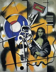 Mona Lisa with the keys