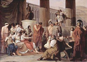 Ulises en la corte de Alcínoo