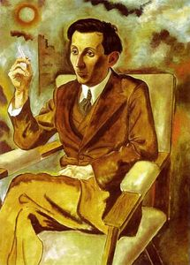 Portrait of the Writer Walter Mehring