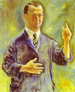 Self Portrait, Admonishing