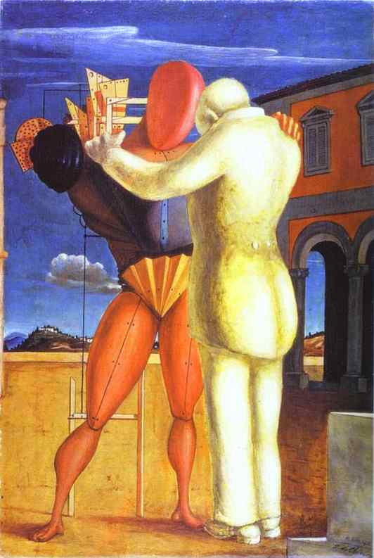 Wikioo.org - The Encyclopedia of Fine Arts - Painting, Artwork by Giorgio De Chirico - The Prodigal Son