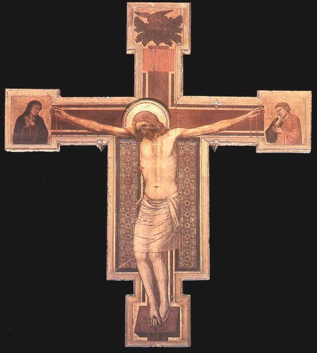 WikiOO.org - Enciklopedija dailės - Tapyba, meno kuriniai Giotto Di Bondone - The Crucifixion