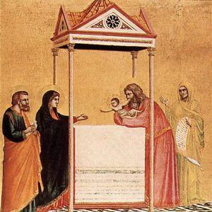 il presentazione del gesù bambino nel tempio