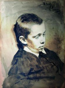 Portrait of A.S. Matveev