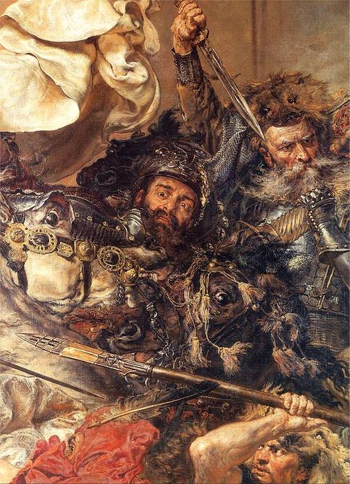 Wikioo.org - The Encyclopedia of Fine Arts - Painting, Artwork by Jan Matejko - Battle of Grunwald (detail) (10)