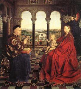 The Rolin Madonna (La Vierge au Chancelier Rolin)