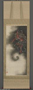 Thunder god, Edo period