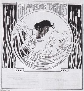 A modern Tantalus. Illustration for 'Meggendorfer leaves'.
