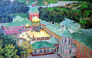Troitsky Cathederal in Troitse-Sergiyev Monastery