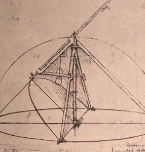 Design for a parabolic compass