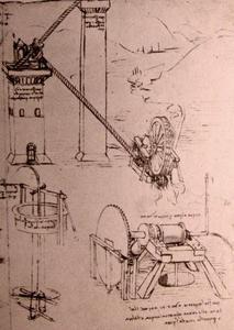 Drawings of machines