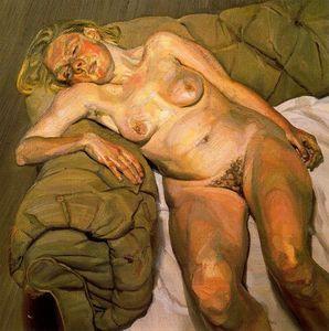 Blond Girl, Night Portrait