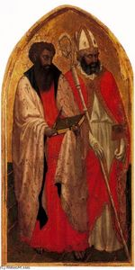 San Giovenale Triptych. Left panel