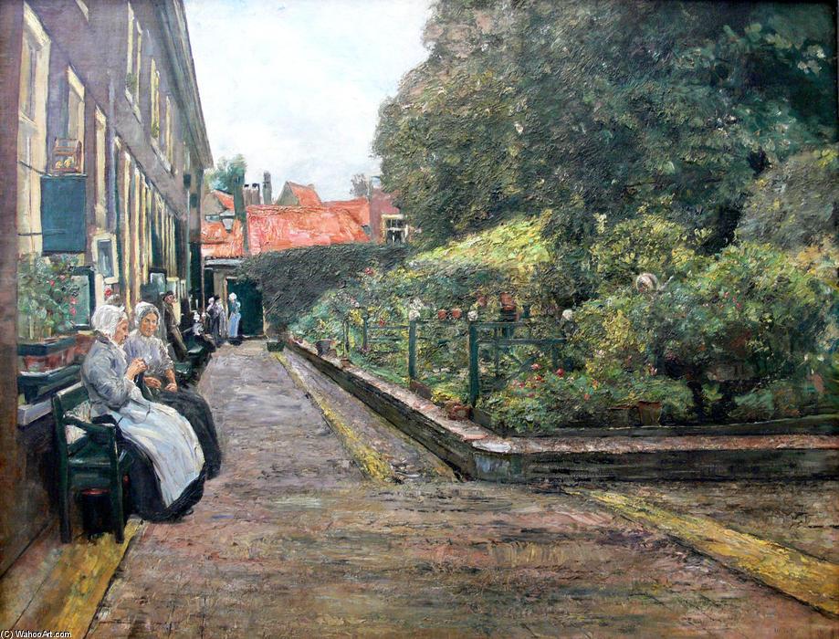 Wikioo.org - The Encyclopedia of Fine Arts - Painting, Artwork by Max Liebermann - Stevenstift in Leiden